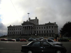 Montevideo - congressional building