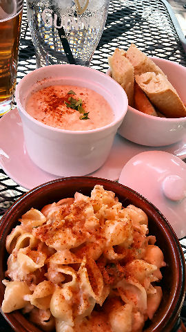 Riptide by the Bay - crab dip and crab mac n cheese