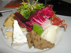 Sirop - plate of cheese and meats