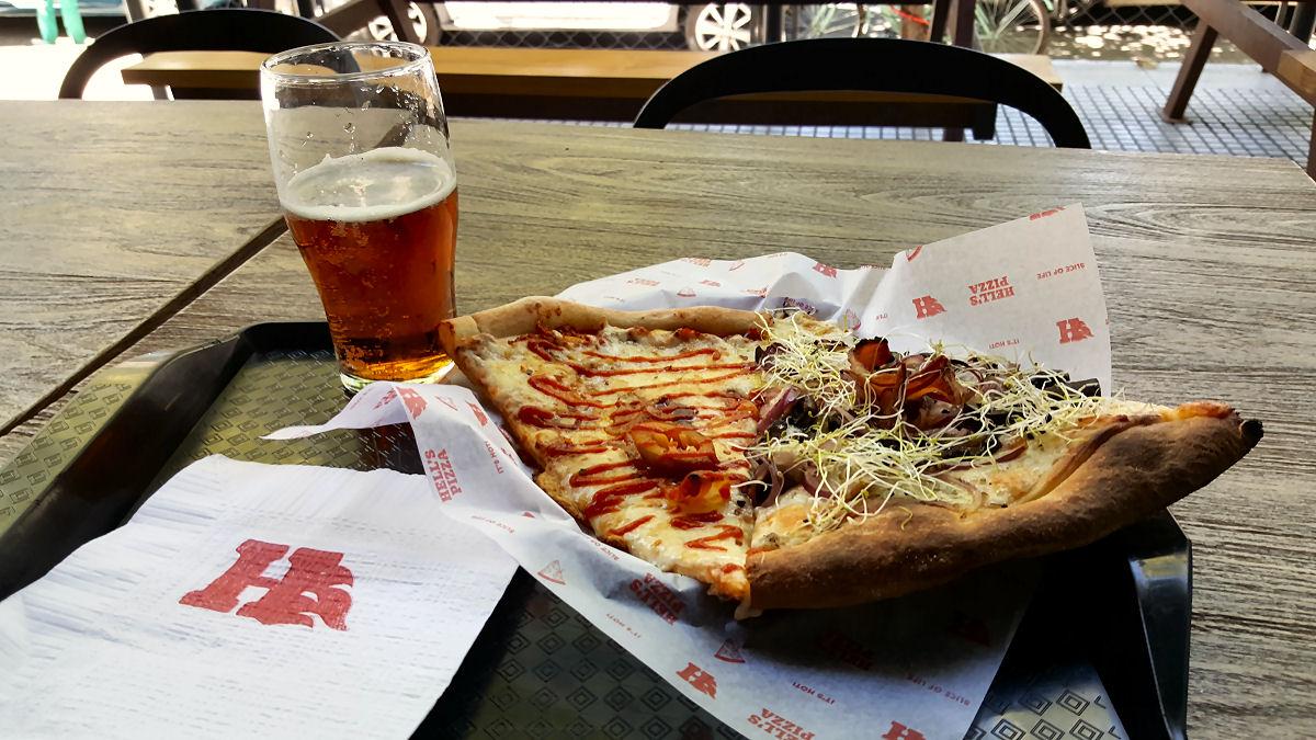 Order Pizza Hells Kitchen
